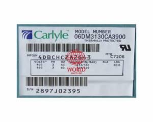 06DM3130 CARRIER CARLYLE SEMI COMPRESSOR