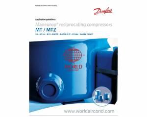 DANFOSS MANEUROP MT125 MT144 MT160 MTZ100 MTZ125 MTZ160 COMPRESSOR SELECTION