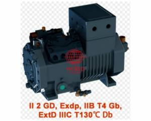 ex explosion proof semi hermertic compressor