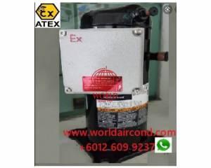 explosion ex proof scroll compressor